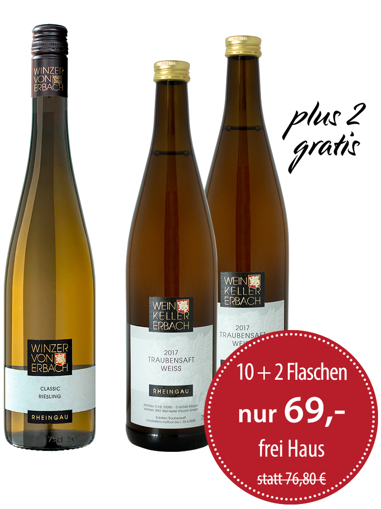 12er Paket<br>»Riesling Classic plus 2«